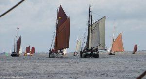 ANNA-LISA bei einer Traditionsschiff-Regatta